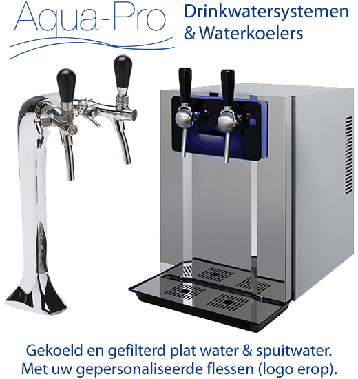 Drinkwatersysteem horeca Aqua Pro